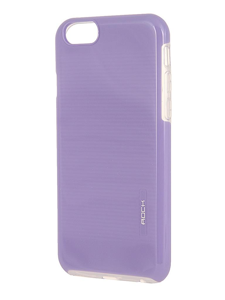 Аксессуар Чехол ROCK Jello Protective Shell for iPhone 6 Light Purple 69446<br>