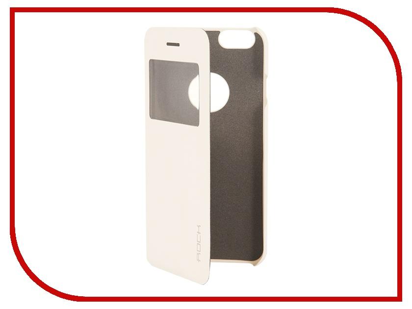 Аксессуар Чехол ROCK Uni for iPhone 6 White 70435 аксессуар чехол rock jello protective shell for iphone 6 white 69439