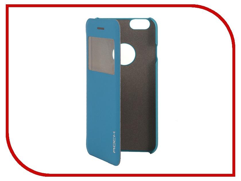 Аксессуар Чехол ROCK Uni for iPhone 6 Turquoise 70466<br>