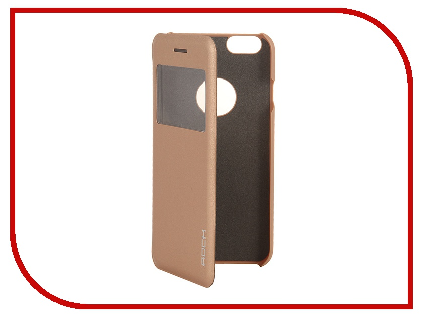 Аксессуар Чехол ROCK Uni for iPhone 6 Gold 70442<br>