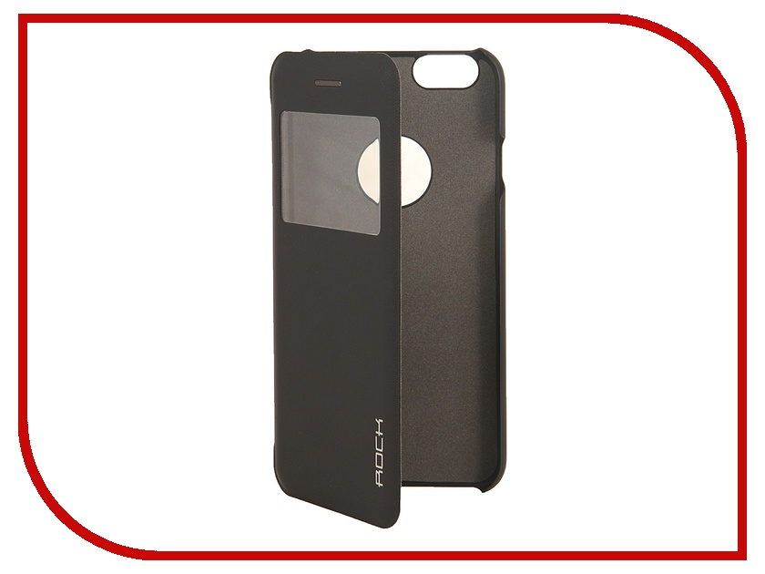 Аксессуар Чехол ROCK Uni for iPhone 6 Black 70428<br>