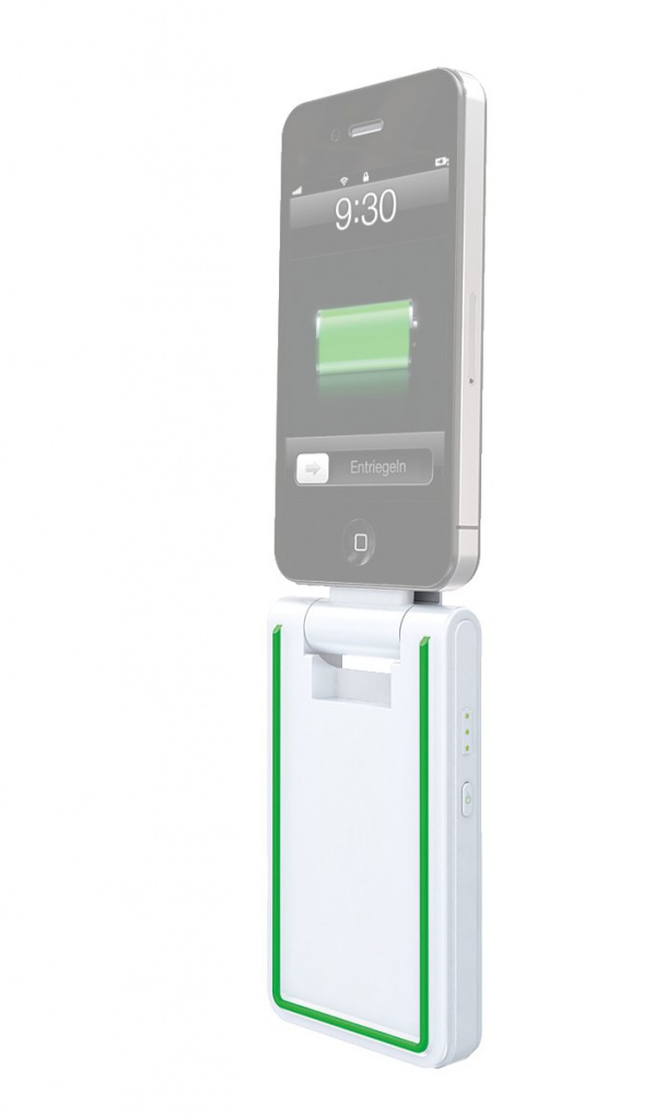 Аккумулятор Leitz Complete 3 in 1 for iPhone 4/4S 2000 mAh White 62750001