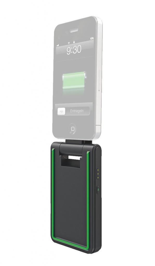 Аккумулятор Leitz Complete 3 in 1 for iPhone 4/4S 2000 mAh Black 62750095