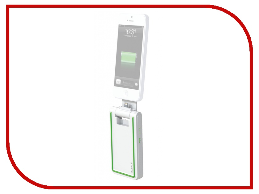 Аккумулятор Leitz Complete Lightning 3 in 1 for iPhone 5/5S/5C/iPod Touch/iPod Nano White 63630001<br>
