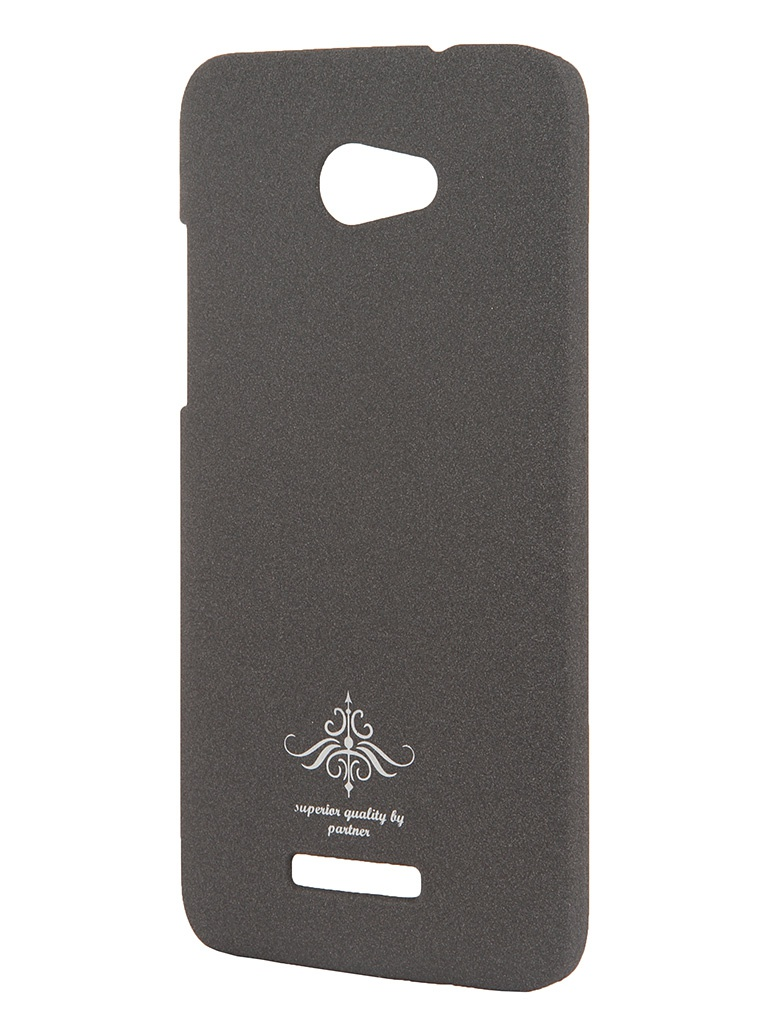 Аксессуар Чехол-накладка HTC Butterfly Partner Matte Grey ПР028069<br>