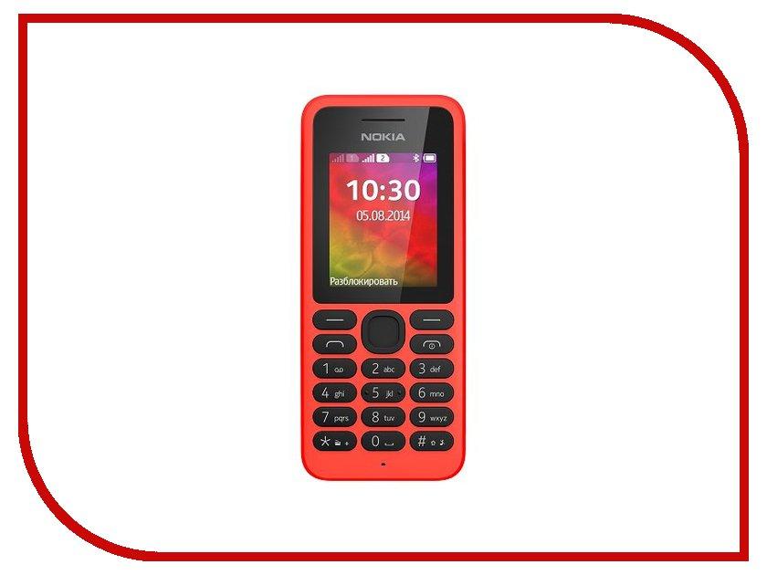 Сотовый телефон Nokia 130 Dual SIM Red какой гламурный телефон nokia купить