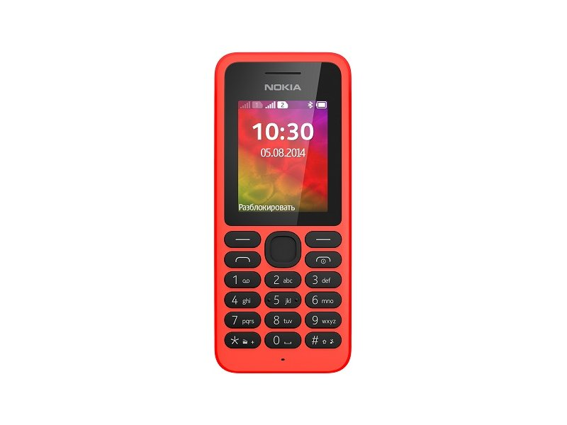 Сотовый телефон Nokia 130 Dual SIM Red<br>