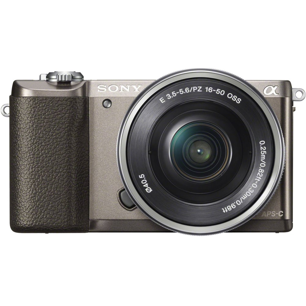 Фотоаппарат Sony Alpha A5100 Kit 16-50 mm F/3.5-5.6 E OSS PZ Brown e pz