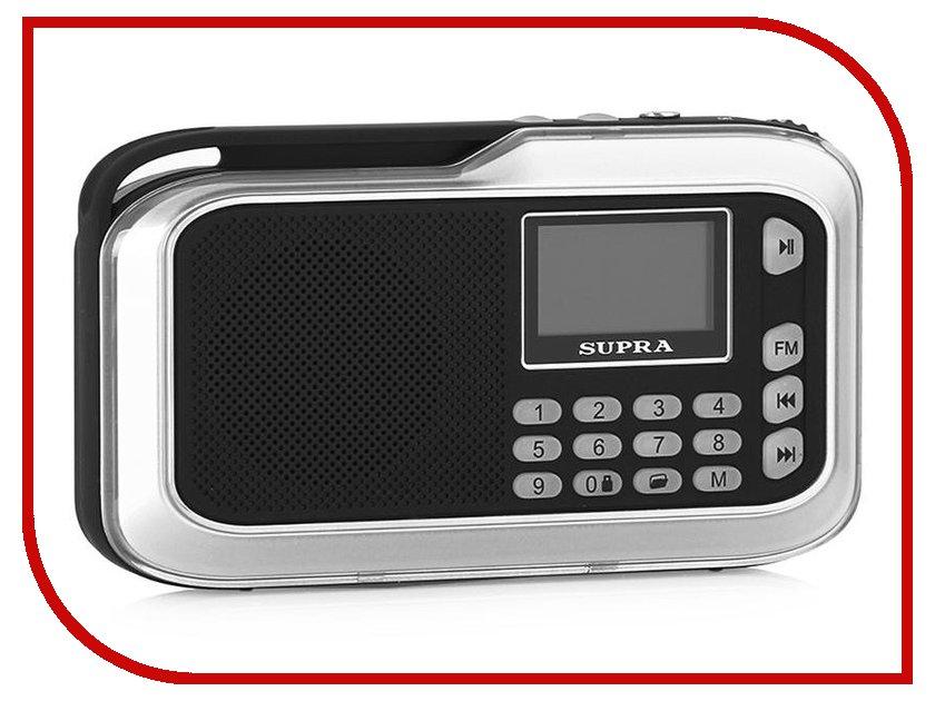 Радиоприемник SUPRA PAS-3909 Silver радиоприемник supra sa 46fm