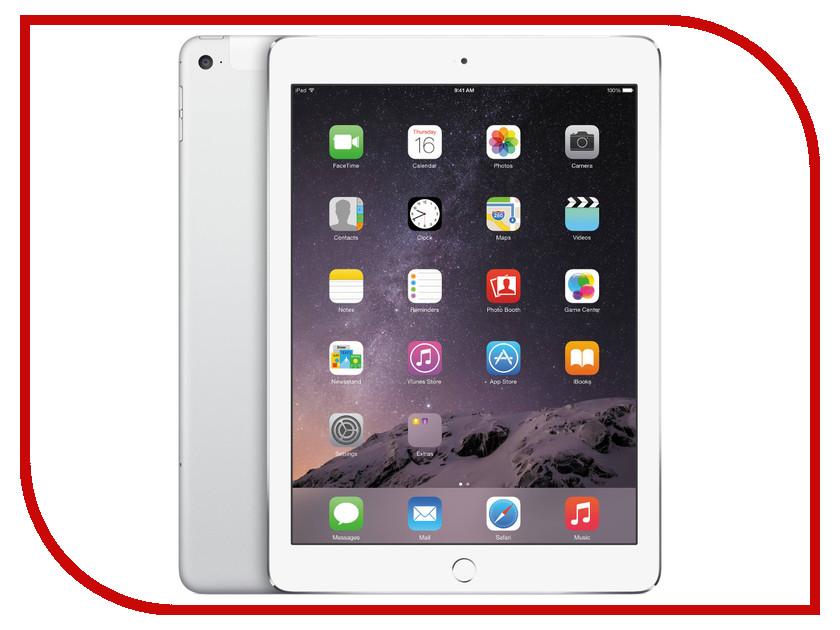 Планшет APPLE iPad Air 2 128Gb Wi-Fi + Cellular Silver MGWM2RU/A