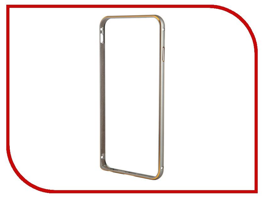 Аксессуар Чехол-бампер Ainy for iPhone 6 Plus Grey QC-A014K<br>