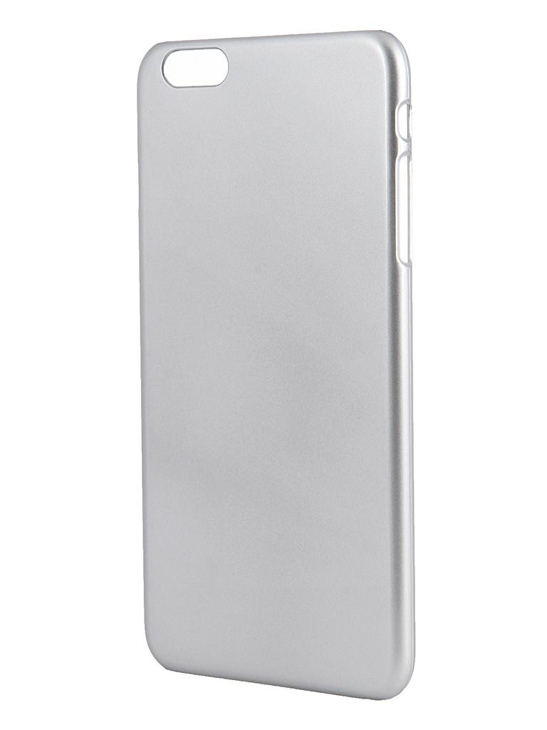 Аксессуар Крышка задняя Ainy for iPhone 6 Plus Silver QB-A028Q