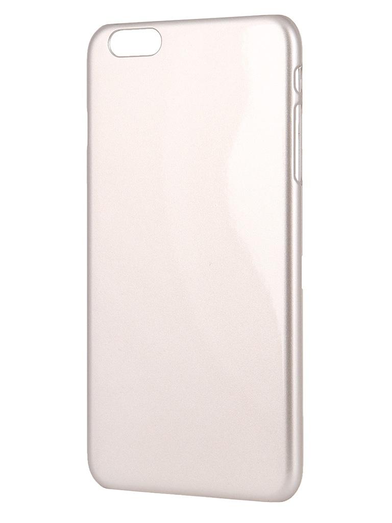 Аксессуар Крышка задняя Ainy for iPhone 6 Plus Gold QB-A027L