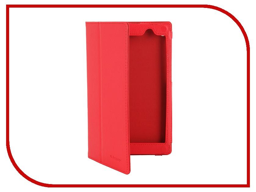Аксессуар Чехол ASUS MeMO Pad 7 ME 572C/CE IT Baggage, с функцией стенд иск. кожа Red ITASME572-3<br>