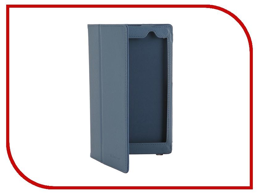 Аксессуар Чехол ASUS MeMO Pad 7 ME 572C/CE IT Baggage, с функцией стенд иск. кожа Blue ITASME572-4<br>