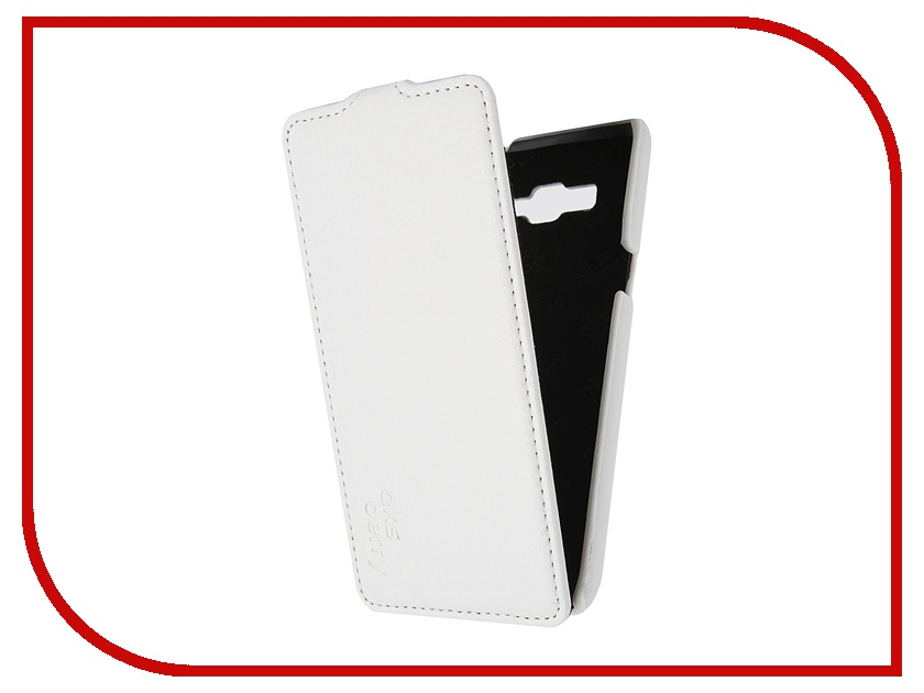 Аксессуар Чехол Samsung SM-G530H Galaxy Grand Prime Aksberry White аксессуар чехол samsung sm j120 galaxy j1 2016 aksberry white