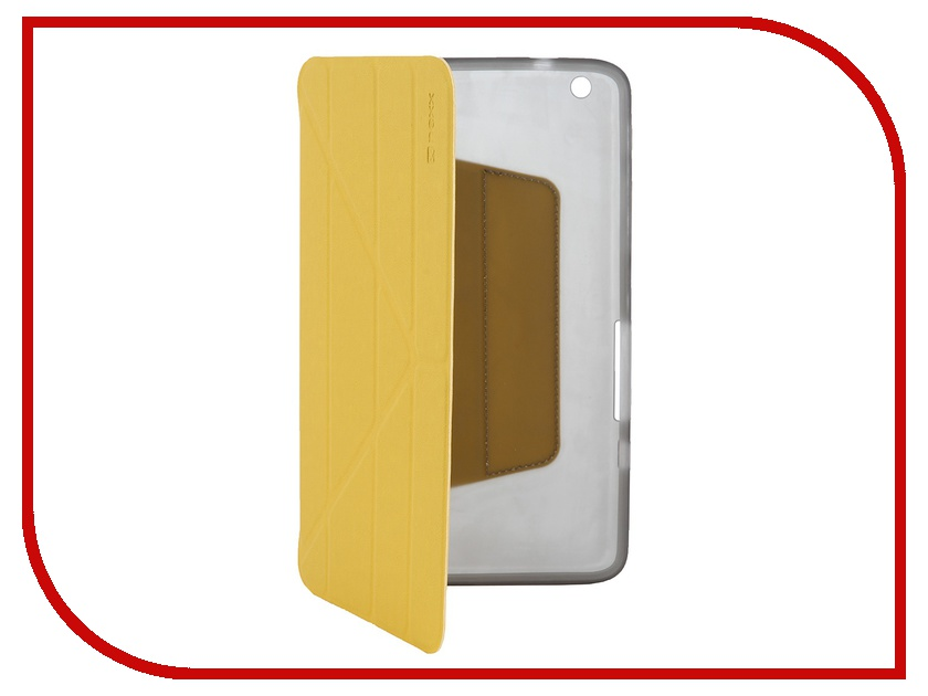 Аксессуар Чехол Lenovo Miix 2 NEXX Smartt полиуретан Yellow TPC-ST-701-YL<br>