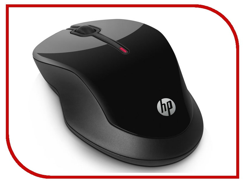 Мышь HP X3500 Black H4K65AA hewlett packard hp c2500 проводной черная мышь