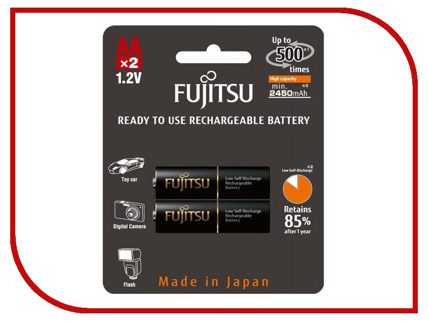 Аккумулятор AA - Fujitsu HR-3UTHCEX(2B) 2450 mAh (2 штуки)<br>