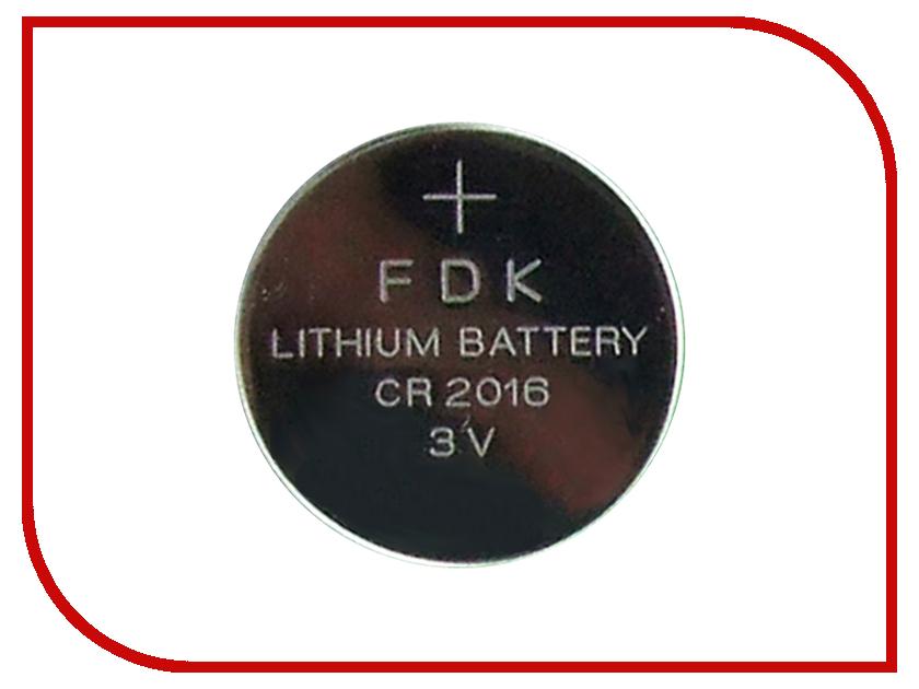 Батарейка CR2016 - Fujitsu CR2016(B) (1 штука)<br>