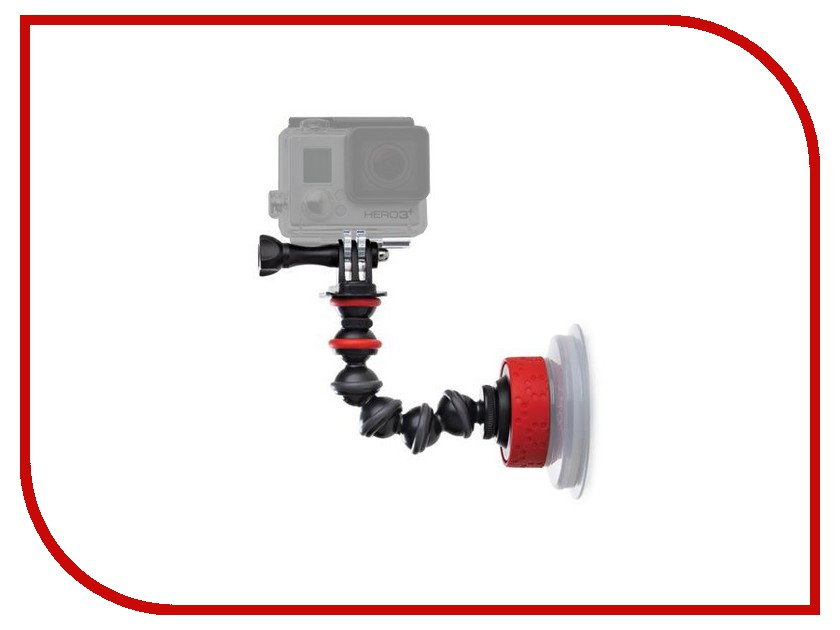 Аксессуар Крепление присоска Joby Suction Cup & GorillaPod Arm Black/Red JB01329-BWW bts 06 water resistant bluetooth speaker w suction cup for iphone 5 blue