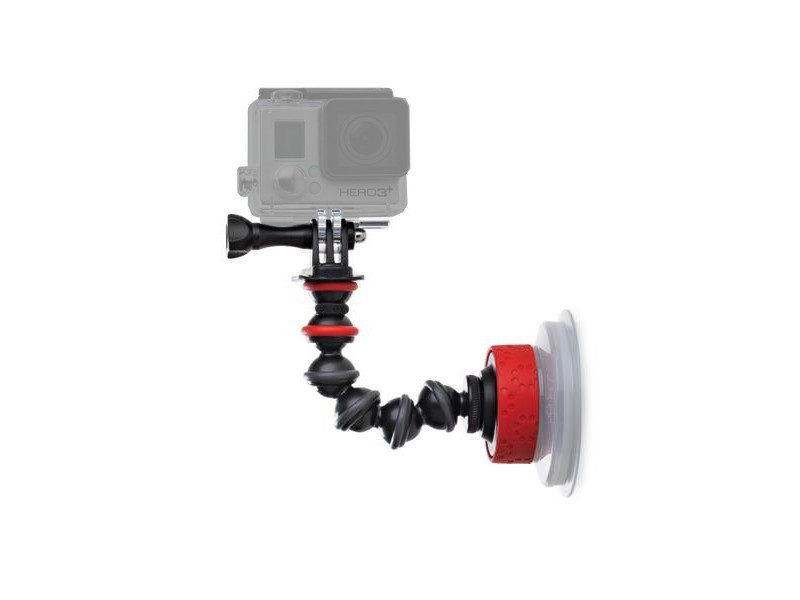 Аксессуар Крепление присоска Joby Suction Cup & GorillaPod Arm Black/Red JB01329-BWW mini double sided suction cup silicone pad for mobile phone red
