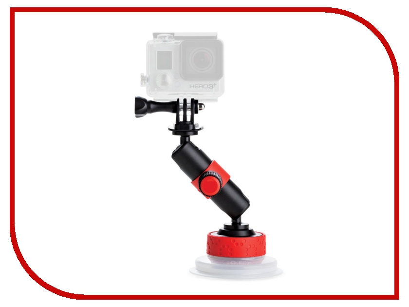 Аксессуар Joby Suction Cup &amp; Locking Arm Black/Red<br>
