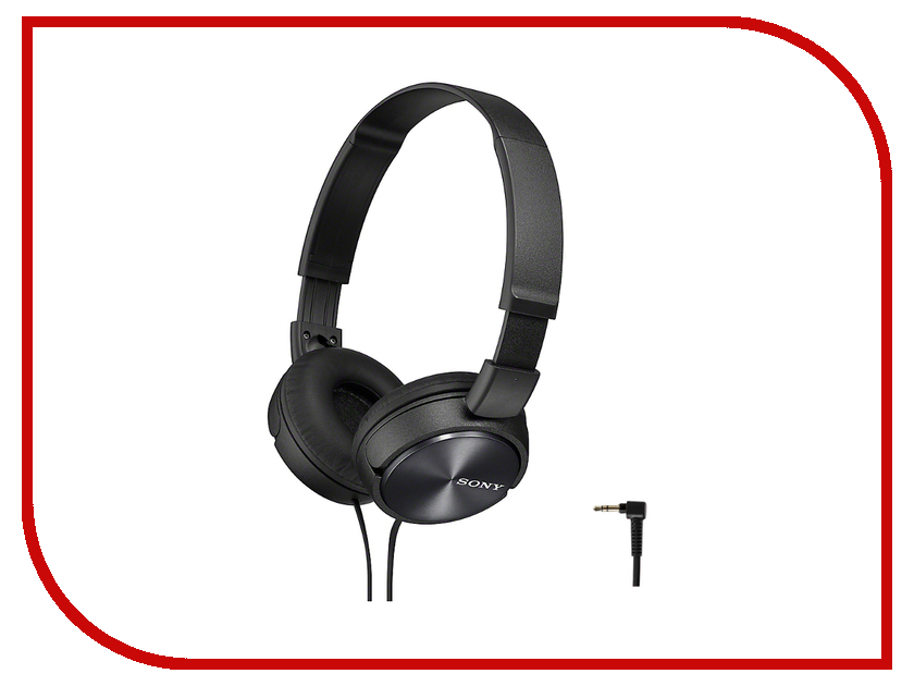 Sony MDR-ZX110 Black sony mdr zx330bt black