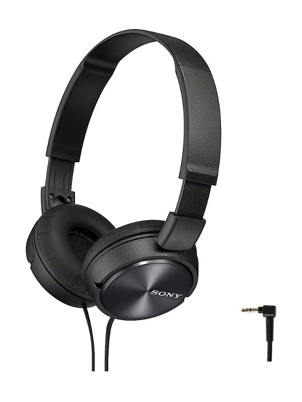 Sony MDR-ZX110 Black sony mdr zx660ap black