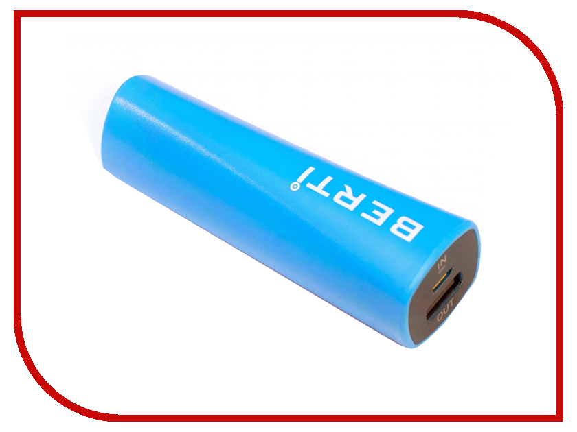 Аккумулятор Berti Rainbow 2400mAh Blue<br>