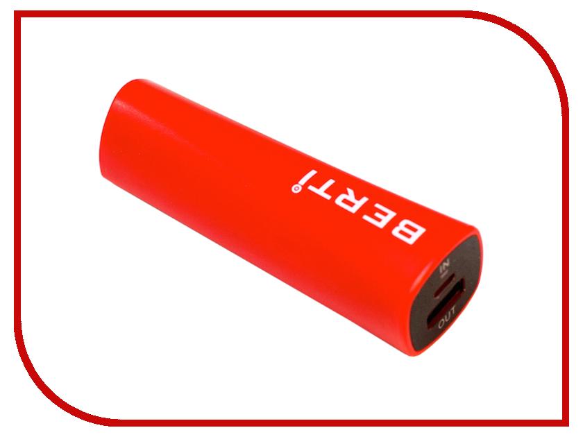 Аккумулятор Berti Rainbow 2400mAh Red