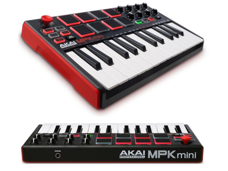 MIDI-клавиатура AKAI pro MPK-MINI MKII стоимость