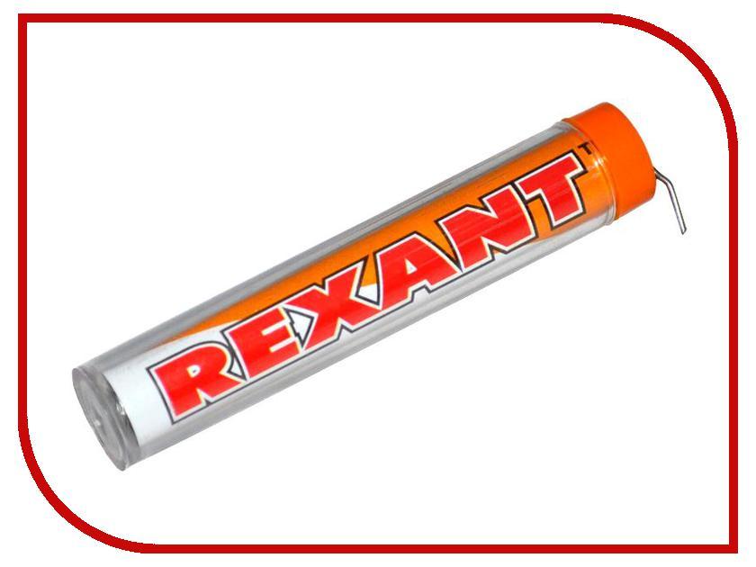 Аксессуар Rexant 09-3101 10g DIA 1.0 mm припой с канифолью<br>