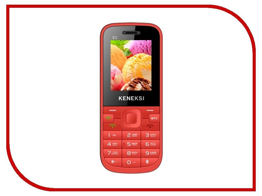 Сотовый телефон KENEKSI E2 Red<br>