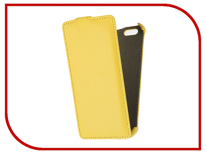 Аксессуар Чехол Gecko for iPhone 6 Yellow<br>