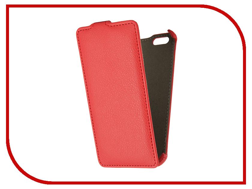 Аксессуар Чехол Gecko для iPhone 6 Red<br>