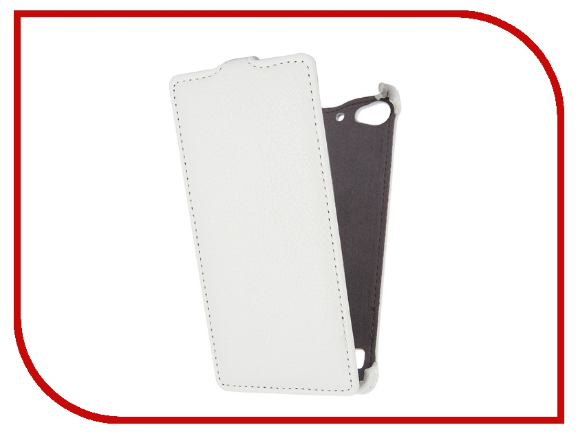 Аксессуар Чехол Lenovo Vibe X2 Gecko White<br>