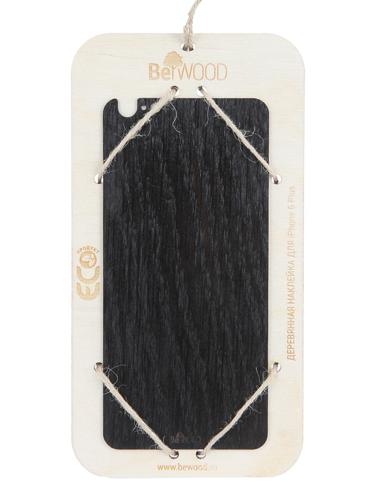Аксессуар Панель деревянная BeWood oakm-i6p для iphone 6 Plus Oak Stained