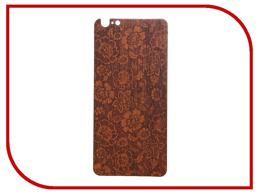 Аксессуар Панель деревянная BeWood flor2-i6p для iphone 6 Plus Flowers Mahogany<br>