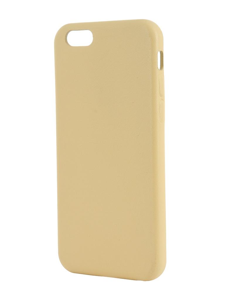 Аксессуар Крышка задняя iRidium for iPhone 6 4.7-inch Yellow
