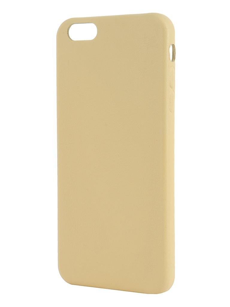 Аксессуар Крышка задняя iRidium for iPhone 6 Plus 5.5-inch Yellow