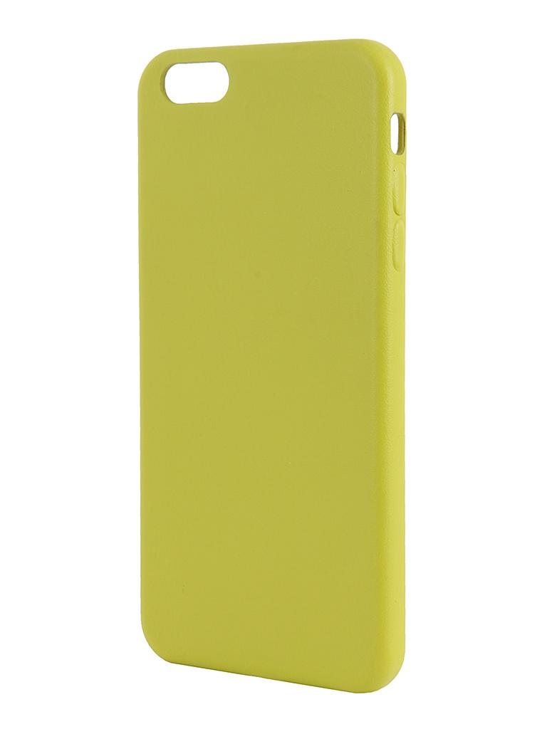 Аксессуар Крышка задняя iRidium for iPhone 6 Plus 5.5-inch Green