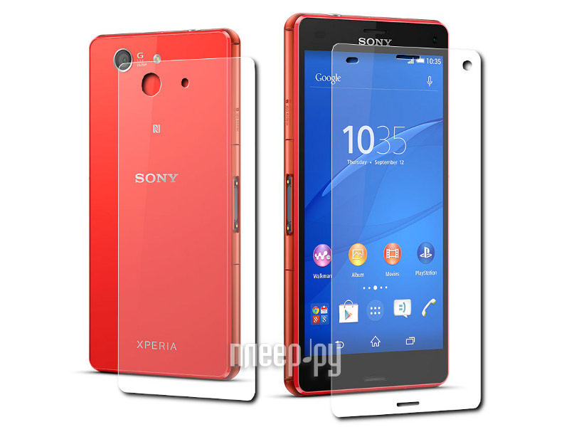 ��������� �������� ������ Sony Xperia Z3 Compact LuxCase Front&Back ��������������� �2 81104