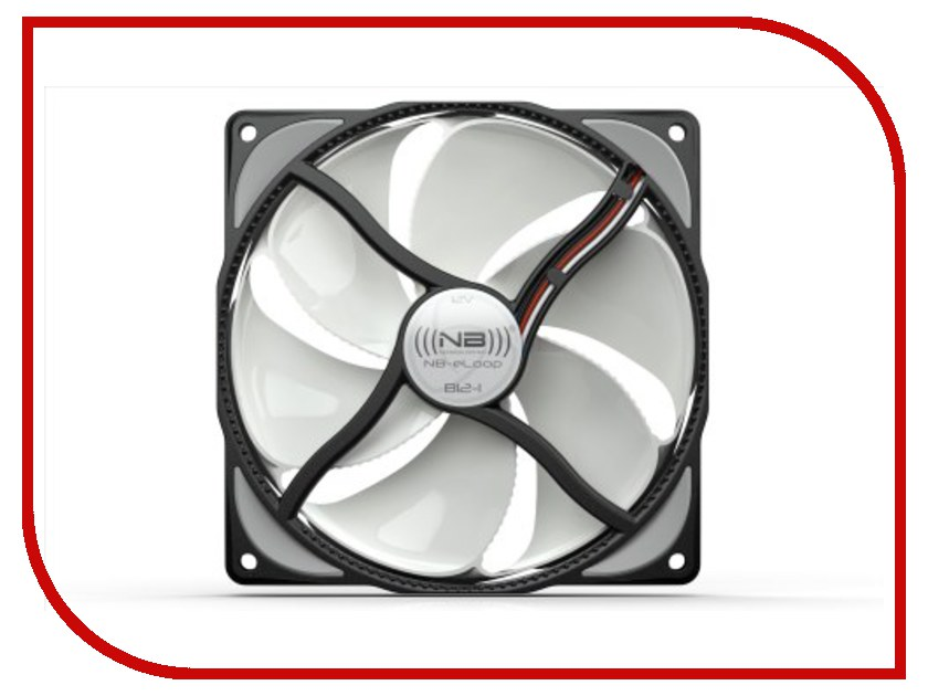 Вентилятор Noiseblocker BionicLoopFan B12-4 120mm 2400rpm<br>