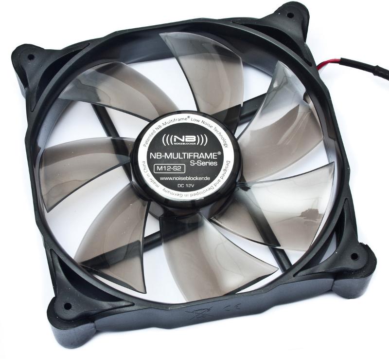 Вентилятор Noiseblocker Multiframe M12-S2 / M12-2 120mm 1250rpm<br>