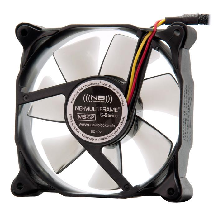 Вентилятор Noiseblocker Multiframe M8-S2 / M8-2 80mm 1700rpm