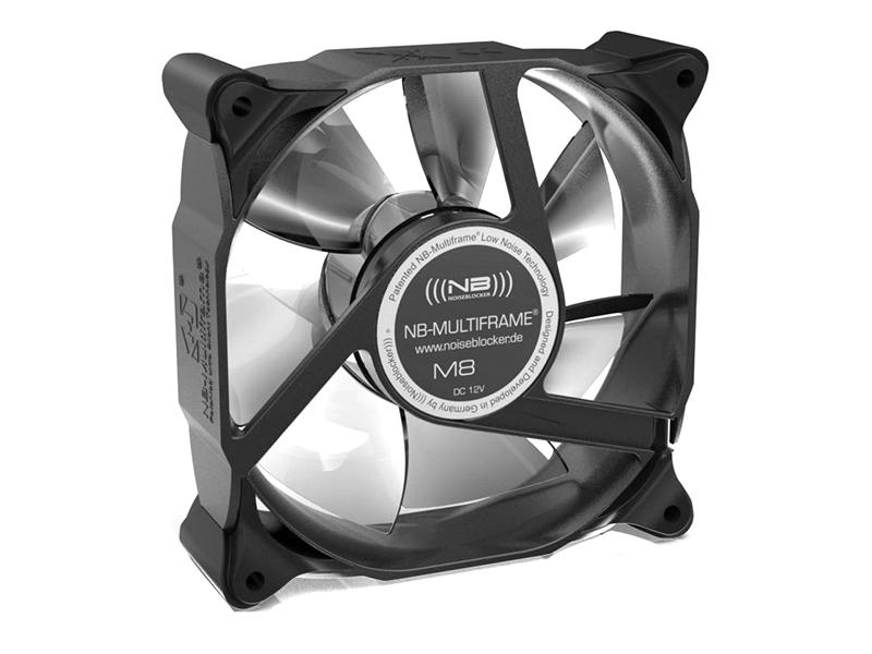 Вентилятор Noiseblocker Multiframe M8-3 80mm 2200rpm
