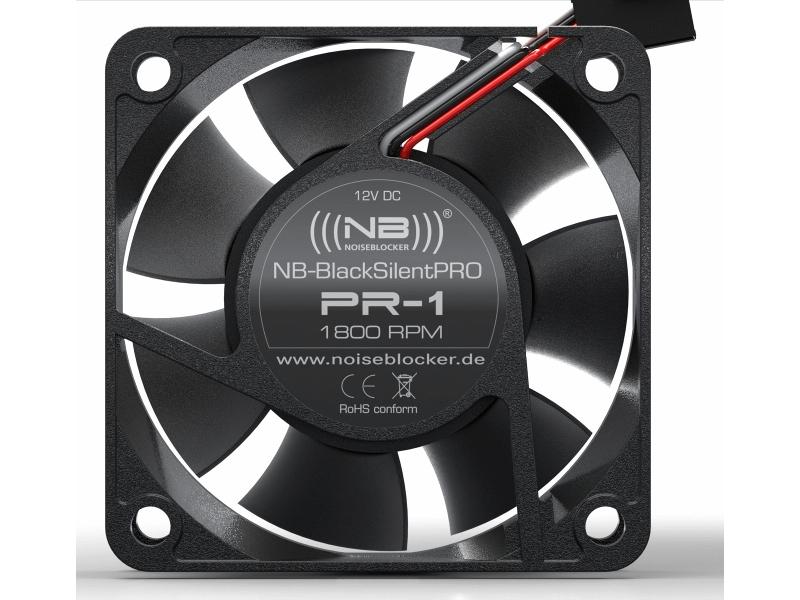 Вентилятор Noiseblocker BlackSilentPRO PR-1 60mm 1800rpm 0 pr на 100