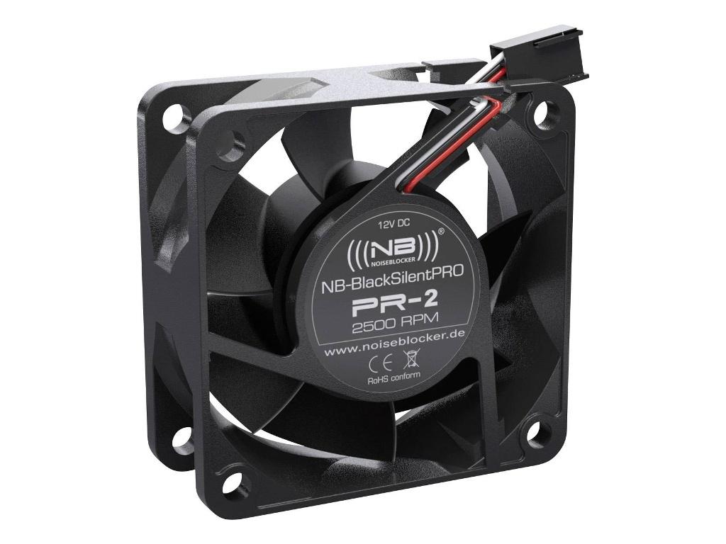 Вентилятор Noiseblocker BlackSilentPRO PR-2 60mm 2500rpm вентилятор noiseblocker blacksilentpro pr 2 60mm 2500rpm