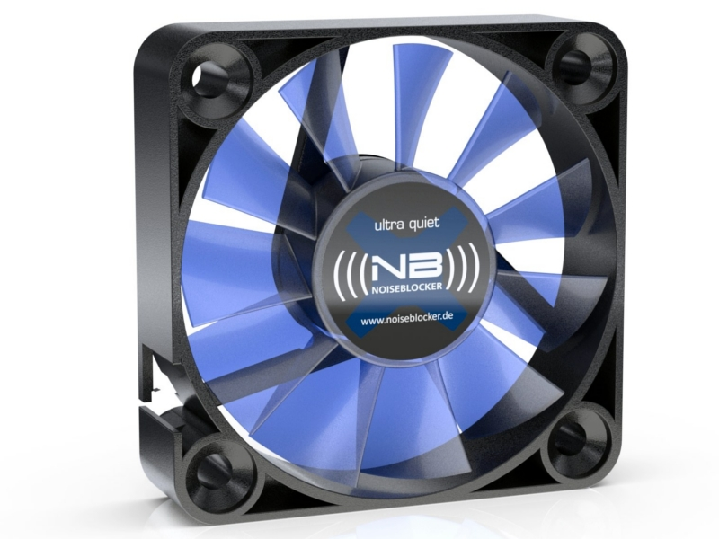 Вентилятор Noiseblocker BlackSilentFan XM1 40mm 2800rpm